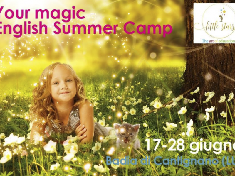 Little Stars. Your Magic Summer Camp in English